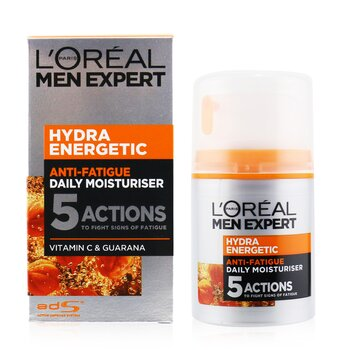 Men Expert Hydra Energetic Daily Anti-Fatigue Moisturising Lotion (50ml/1.6oz)