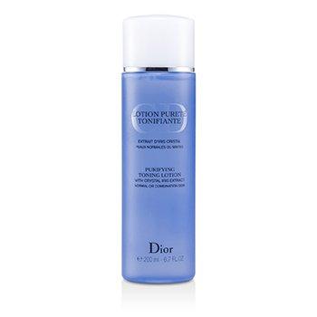 Christian Dior Очищающий Тонизирующий Лосьон (для Нормальной и Комбинированной Кожи) 200ml/6.7oz