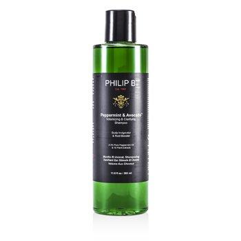 Philip B Мята и Авокадо Очищающий Шампунь для Объема Волос 350ml/11.8oz