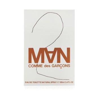 2 Man Eau De Toilette Spray (100ml/3.3oz)