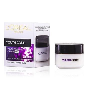 LOreal Dermo-Expertise Youth Code Омолаживающий Крем для Век против Морщин 15ml/0.5oz