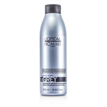 LOreal Профессиональный Шампунь для Седых Волос для Мужчин 250ml/8.45oz