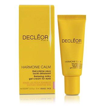Decleor Harmonie Calm Успокаивающий Расслабляющий Молочный Гель-Крем для Век 15ml/0.5oz