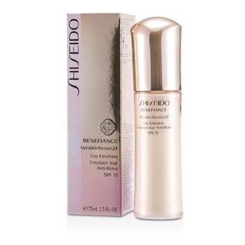 Shiseido Benefiance WrinkleResist24 Дневная Эмульсия SPF 15 75ml/2.5oz