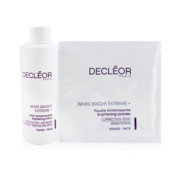 White Bright Extreme Set (Salon Size): Brightening Lotion + 5x Brightening Powder (6pcs)