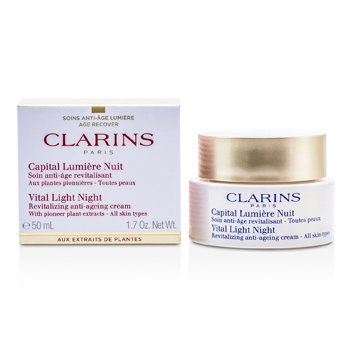 Clarins Vital Light Ночной Восстанавливающий Антивозрастной Крем 50ml/1.7oz