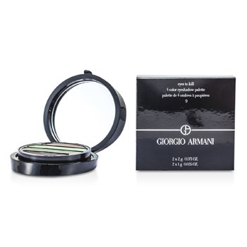Giorgio Armani Eyes To Kill Тени для Век 4 Оттенка - # 9 (Medusa) 4pcs