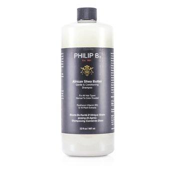 Philip B Нежный Шампунь Кондиционер с Африканским Маслом Ши (для Всех Типов Волос, Нормальных и Окрашенных) 947ml/32oz