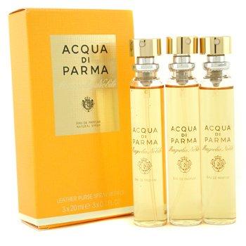 Acqua Di Parma Magnolia Nobile Парфюмированная Вода Спрей в Кожанном Футляре Запасной Блок 3x20ml/0.7oz