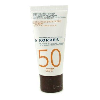 Korres Солнцезащитный Крем для Лица с Йогуртом SPF 50 50ml/1.69oz