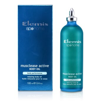 Musclease Active Body Oil (100ml/3.4oz)