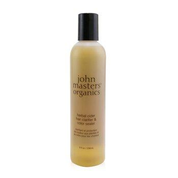 John Masters Organics Травяной Сидр Очищающее Средство для Сохранения Цвета Волос 236ml/8oz