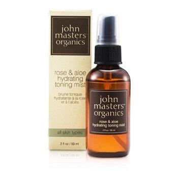 John Masters Organics Роза и Алоэ Увлажняющий Тонизирующий Спрей 59ml/2oz