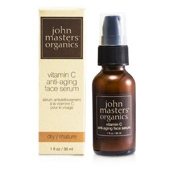 John Masters Organics Антивозрастная Сыворотка для Лица с Витамином С (для Сухой и Зрелой Кожи) 30ml/1oz