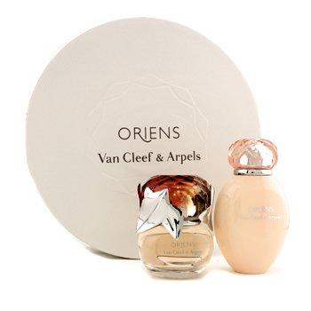 Van Cleef  Arpels Oriens Набор: Парфюмированная Вода Спрей 50мл/1.7унц + Лосьон для Тела 150мл/5унц (в Круглой Коробке) 2pcs
