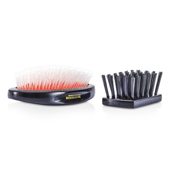 Nylon - Universal Military Nylon Medium Size Hair Brush (1pc)
