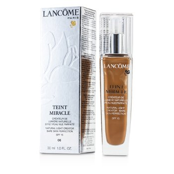 Lancome Teint Miracle Натуральное Осветляющее Средство SPF15 - # 06 Бежевая Корица 30ml/1oz