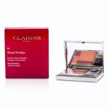 Clarins Blush Prodige Осветляющие Румяна - # 04 Sunset Coral 7.5g/0.26oz