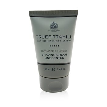 Truefitt  Hill Ultimate Comfort Крем для Бритья - без Запаха (Дорожный Тюбик) 103ml/3.5oz