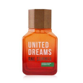 United Dreams One Summer Eau De Toilette Spray (2019 Edition) (100ml/3.4oz)