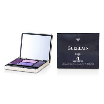Guerlain Ecrin 4 Couleurs Стойкие Тени для Век - #01 Les Violets 7.2g/0.25oz