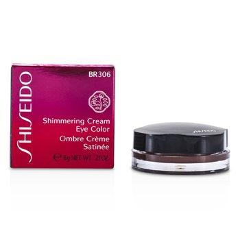 Shiseido Мерцающие Кремовые Тени для Век - # BR306 Leather 6g/0.21oz