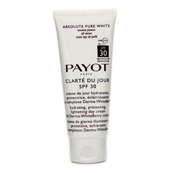 Payot Absolute Pure White Clarte Du Jour SPF 30 Увлажняющий Защитный Осветляющий Дневной Крем (Салонный Размер) 100ml/3.3oz