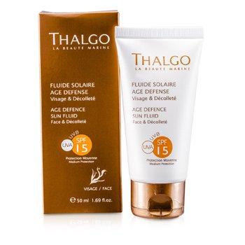 Thalgo Антивозрастной Солнцезащитный Флюид для Лица и Декольте SPF15 50ml/1.69oz