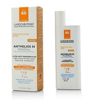 Anthelios 50 Mineral Tinted Ultra Light Sunscreen Fluid (50ml/1.7oz)