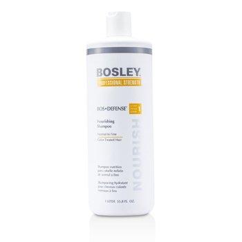 Bosley Professional Strength Bos Defense Питательный Шампунь (для Нормальных и Тонких Окрашенных Волос) 1000ml/33.8oz