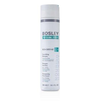 Bosley Professional Strength Bos Defense Питательный Шампунь (для Нормальных и Тонких Неокрашенных Волос) 300ml/10.1oz