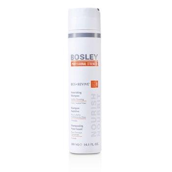 Bosley Professional Strength Bos Revive Питательный Шампунь (для Заметно Редеющих Окрашенных Волос) 300ml/10.1oz