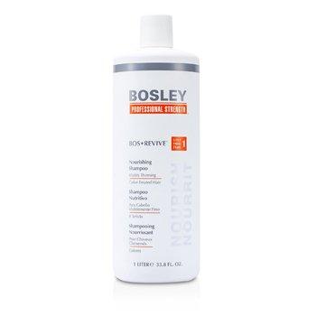 Bosley Professional Strength Bos Revive Питательный Шампунь (для Заметно Редеющих Окрашенных Волос) 1000ml/33.8oz