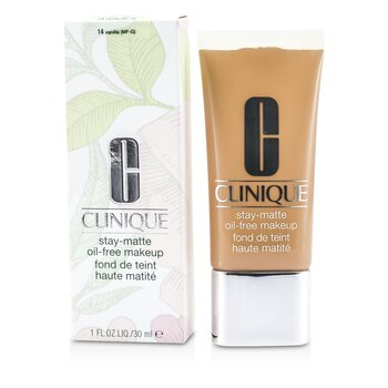 Clinique 倩碧 Stay Matte Oil Free Makeup 粉底液- # 14 Vanilla (MF-G) 30ml/1oz - 粉底及蜜粉