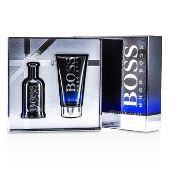 Hugo Boss Boss Bottled Night Набор: Туалетная Вода Спрей 100мл/3.3унц + Гель для Душа 150мл/5унц 2pcs