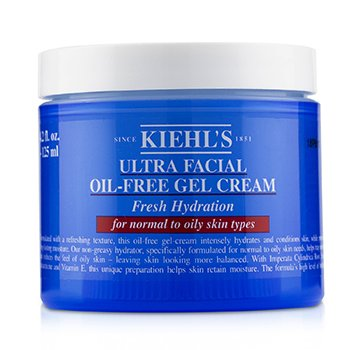 Ultra Facial Oil-Free Gel Cream - For Normal to Oily Skin Types (125ml/4.2oz)