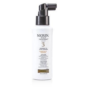 Nioxin Система 3 Уход за Кожей Головы для Тонких, Химически Обработанных, Нормальных и Редеющих Волос 100ml/3.38oz