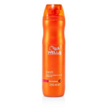Wella Насыщенный Увлажняющий Шампунь для Сухих и Поврежденных Волос (для Тонких/Нормальных Волос) 250ml/8.4oz