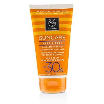 Suncare Face & Body Sun Protection Milk SPF 30 With Sea Lavender & Propolis (Exp. Date: 12/2019) (150ml/5oz)