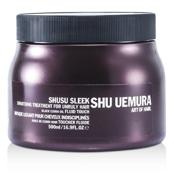 Shu Uemura Shusu Sleek Разглаживающая Ухаживающая Маска (для Непослушных Волос) (Салонный Продукт) 500ml/16.9oz