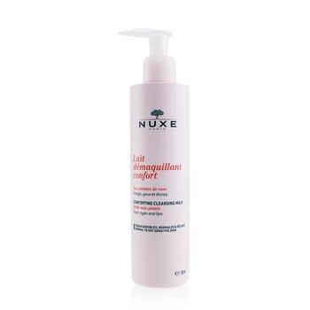 Nuxe Успокаивающее Очищающее Молочко с Лепестками Роз (для Нормальной, Сухой и Чувствительной Кожи) 200ml/6.7oz