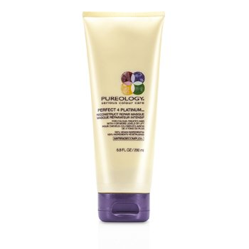 Pureology Perfect 4 Platinum Восстанавливающая Маска (для Окрашенных Волос) 200ml/6.8oz