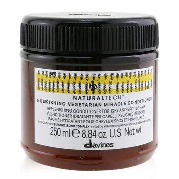 Davines Natural Tech Питательный Растительный Кондиционер (для Сухих, Ломких Волос)  250ml/8.45oz