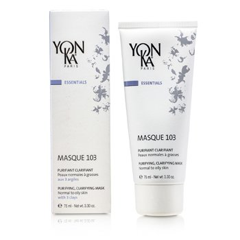 Essentials Masque 103 - Purifying & Clarifying Mask  (Normal To Oily Skin) (75ml/3.3oz)