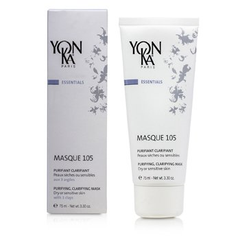 Essentials Masque 105 - Purifying Clarifying Mask (Dry Or Sensitive Skin) (75ml/3.3oz)