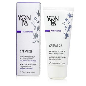 Age Defense Creme 28 With Essential Oils - Hydrating, Softening (Dehydrated Skin) (50ml/1.79oz)