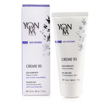 Age Defense Creme 93 With Essential Oils - Balancing (Combination Skin) (50ml/1.74oz)