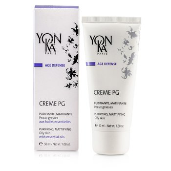 Age Defense Creme PG With Essential Oils - Purifying, Mattifying (Oily Skin) (50ml/1.68oz)