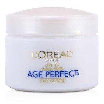 L'Oreal 萊雅 完美歲月補水滋潤乳 SPF 15 (成熟肌膚適用) 70g/2.5oz - 保濕及護理