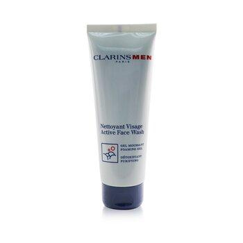 Clarins Men Active Face Wash  125ml/4.4oz